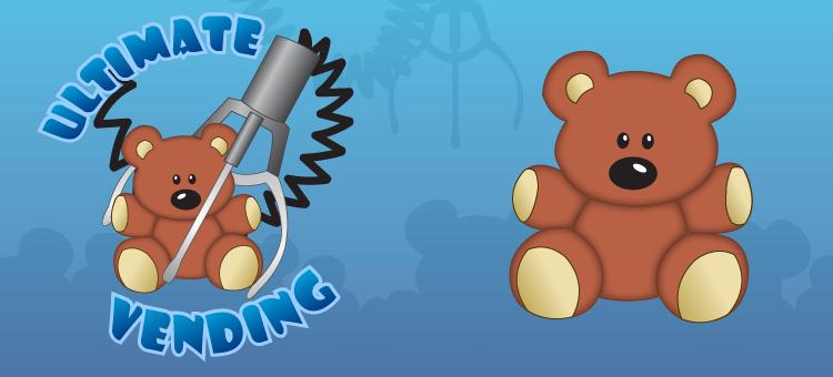 Ultimate Vending logo & mascot design