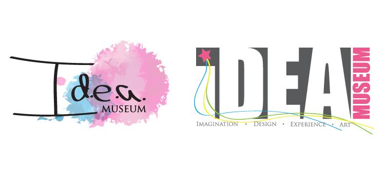 I.D.E.A. Museum logo design
