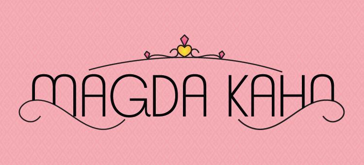 Magda Kahn logo design