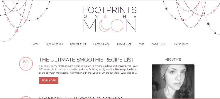 Footprints on the Moon screenshot