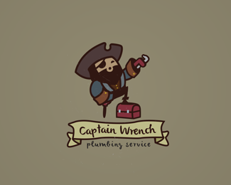 Captain Wrench Logo