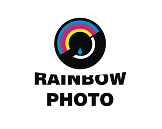 Rainbow Photo Logo