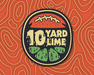 10 Yard Lime Logo