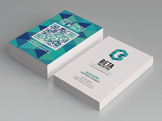 21 Eye-Catching Business Cards for Inspiration - Professional ...