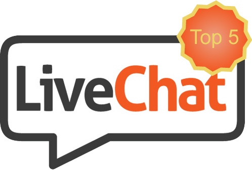 LiveChat top 5