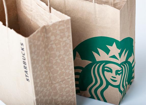 Starbucks Paper Bag Example