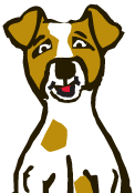 Jäger and Friends Dog Park logo dog