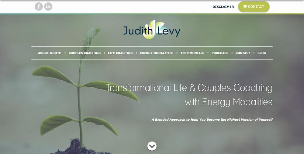 Judith Levy Coaching Website