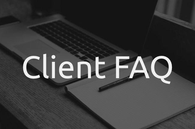 Client FAQ