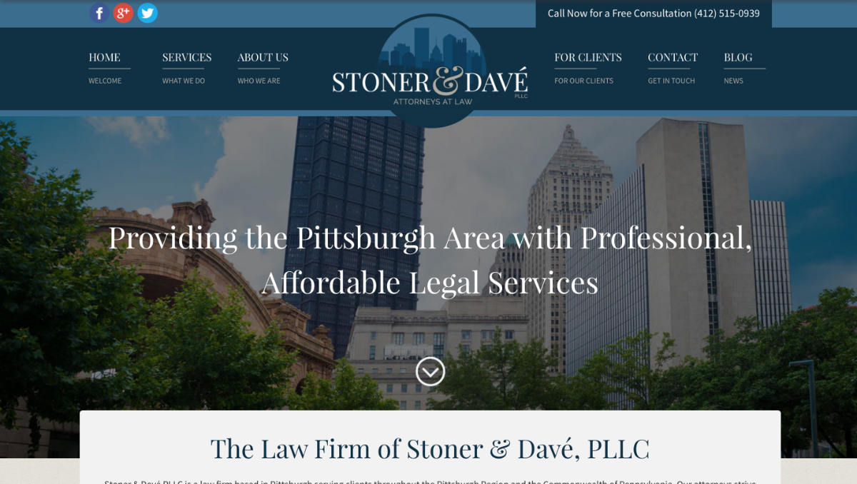 Stoner and Davé Website