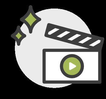 media production icon